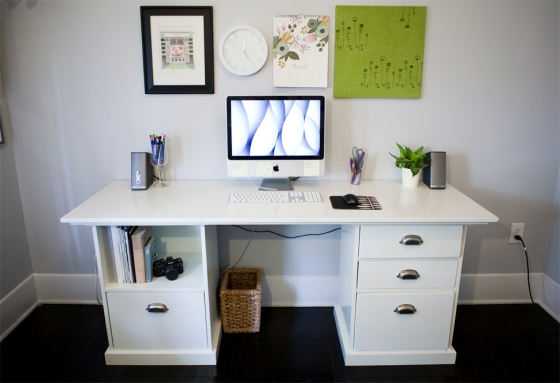 Finished desk