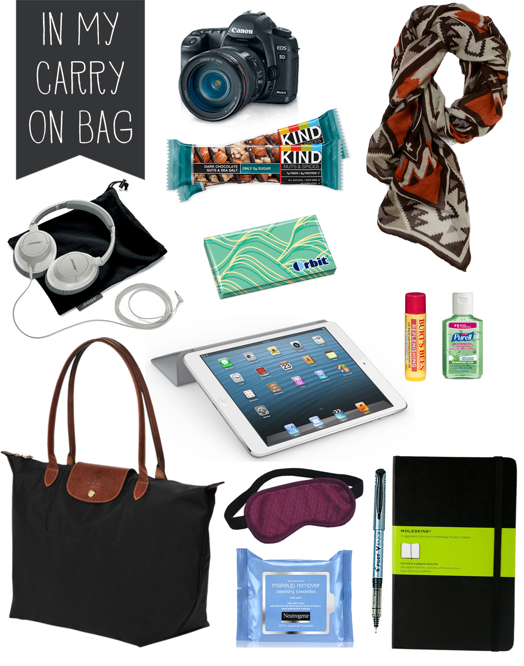 Travel must haves the daily haley